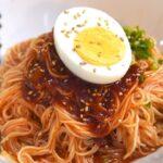 【韓国料理レシピ】激ウマ本格ビビン麺をそうめんで作る簡単な方法 l ビビン冷麺ソース作り方