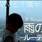 【臨月ママと1歳半】雨の日ルーティン