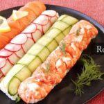 ラップで簡単!ロール寿司の作り方。【料理研究家:麻生怜菜】