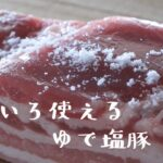 《料理動画》タサン志麻さんのレシピ/ゆで塩豚