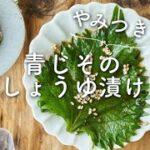 【やみつきのうまみ〜!】青じそのしょうゆ漬けのレシピ・作り方