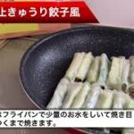 簡単料理 夏バテ防止きゅうり餃子風#簡単料理#簡単レシピ#餃子