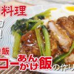 【台湾料理】台湾排骨飯(パイコー餡かけ飯)の作り方~りーほーが紹介!おうちで台湾気分を満喫レシピ!