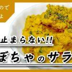 箸が止まらないかぼちゃのサラダの作り方|レシピ|南瓜|料理