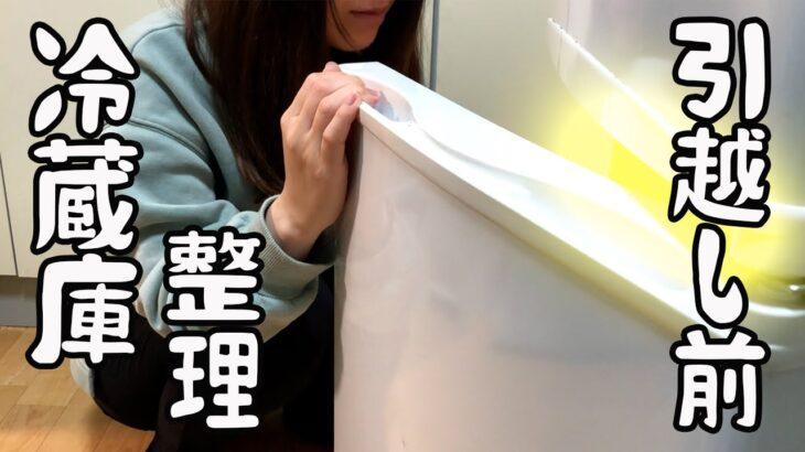 【冷蔵庫整理】引っ越し前なので食材を使い切りたい日の晩ご飯/食費2.5万円【節約生活】