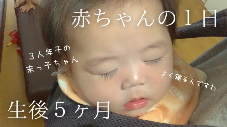 【生後5ヶ月】ついに離乳食!赤ちゃんの1日ルーティン|育児vlog