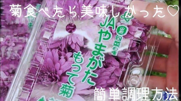 食用菊はビタミンの宝庫だった!節約主婦大好きなお浸しでバランスの良い食事🌼