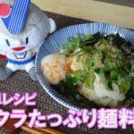 【簡単レシピ】オクラたっぷり麺料理