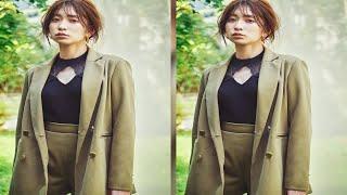 最新ニュース  吉田朱里、秋メイクでナチュラルな大人スタイリングに